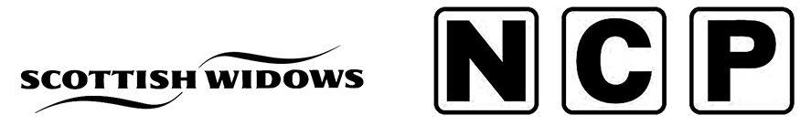 Scottish Widows logo and NCP logo